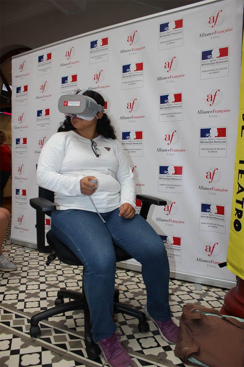 Festival Internacional de Teatro Temporada Alta - Lentes de realidad virtual